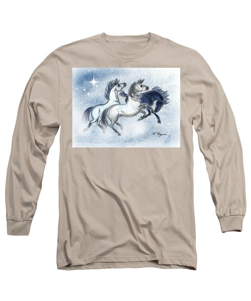 Romping Three Long Sleeve T-Shirt
