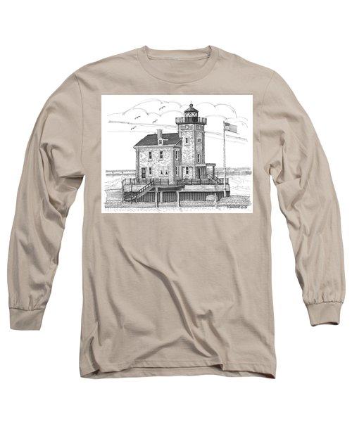 Rondout Lighthouse Long Sleeve T-Shirt