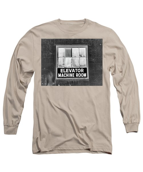 Long Sleeve T-Shirt featuring the photograph Room by Robert Geary