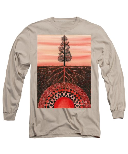Root Chakra Long Sleeve T-Shirt
