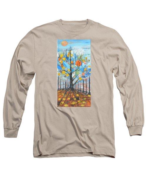 Roots Long Sleeve T-Shirt by Evelina Popilian
