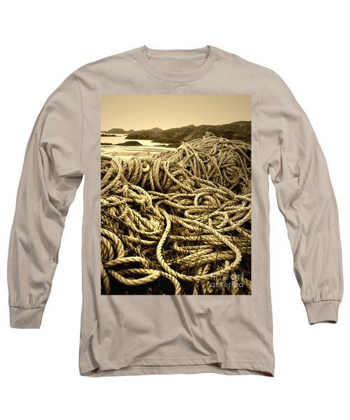 Ropes On Shore Long Sleeve T-Shirt