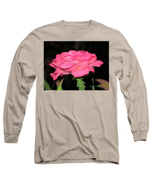 Long Sleeve T-Shirt featuring the photograph Rose 1 by Phyllis Beiser