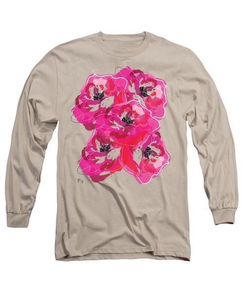 Rose Abundance Long Sleeve T-Shirt