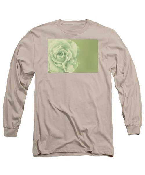 Long Sleeve T-Shirt featuring the photograph Rose Antique by The Art Of Marilyn Ridoutt-Greene