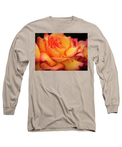 Long Sleeve T-Shirt featuring the photograph Rose Beauty by Jean Noren