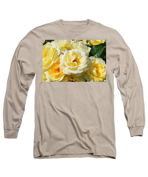 Rose Bush Long Sleeve T-Shirt
