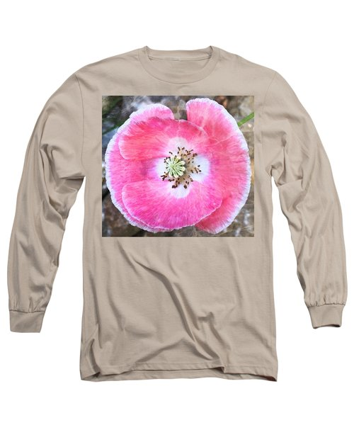 Rose Marble Long Sleeve T-Shirt