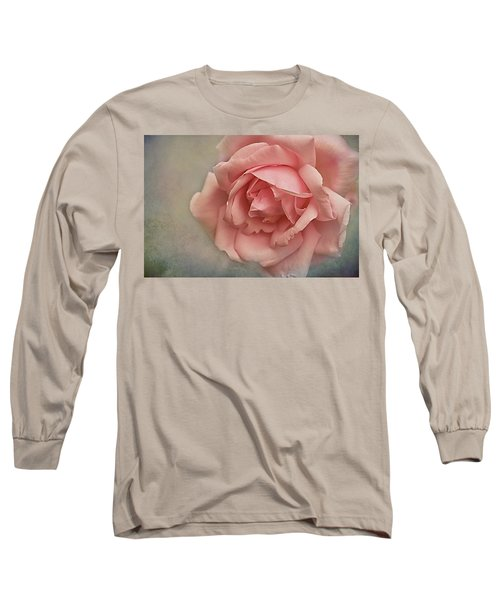 Rose New Dawn Long Sleeve T-Shirt by Jacqi Elmslie
