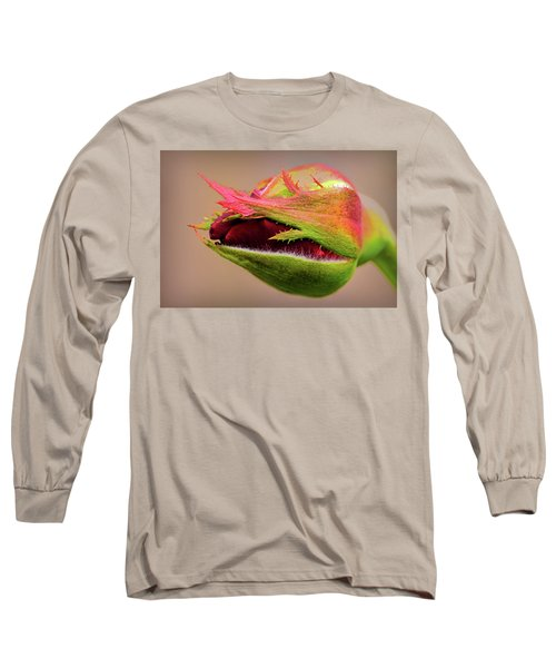 Rosebud  Long Sleeve T-Shirt