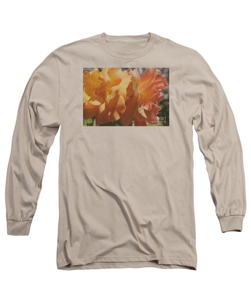 Long Sleeve T-Shirt featuring the photograph Roses by Cassandra Buckley