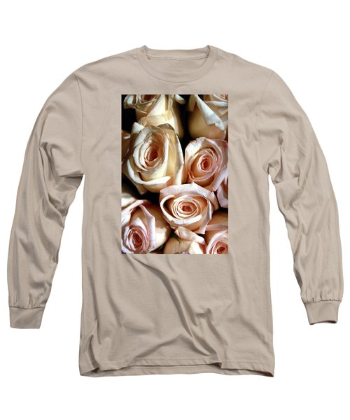 Roses Long Sleeve T-Shirt by Christopher Woods