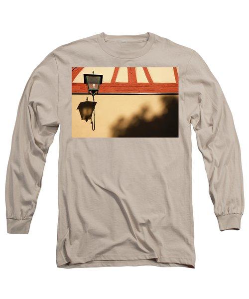 Long Sleeve T-Shirt featuring the photograph Rotenburg Lantern by KG Thienemann
