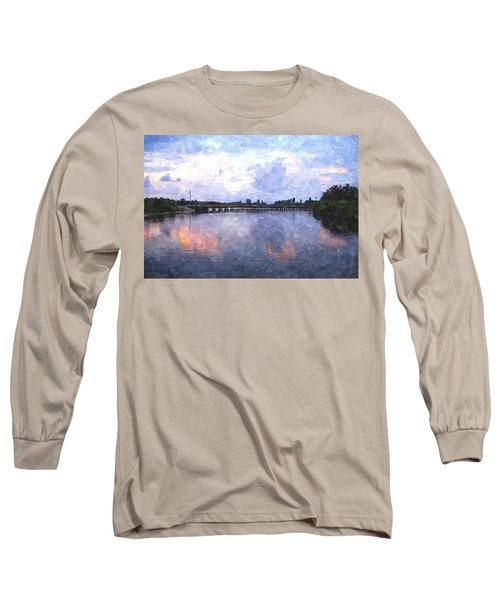 Rotonda River Roriwc Long Sleeve T-Shirt by Jim Brage