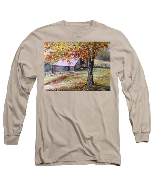 Rouge Red Chimney Long Sleeve T-Shirt
