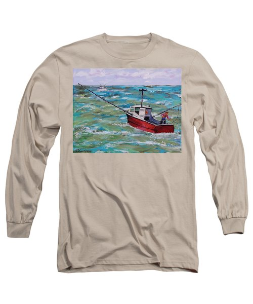 Rough Sea Long Sleeve T-Shirt
