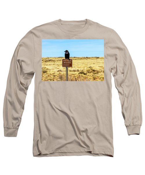 Rout 66 Watch Long Sleeve T-Shirt by Menachem Ganon