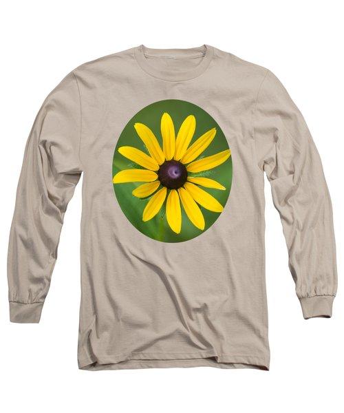 Rudbeckia Flower Long Sleeve T-Shirt by Christina Rollo