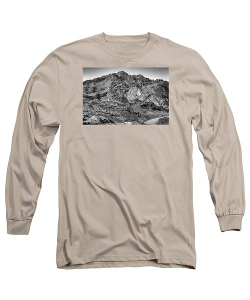 Rugged Mountains Long Sleeve T-Shirt by Sabine Edrissi