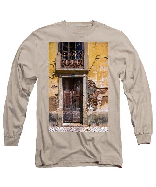 Ruined Yellow House Long Sleeve T-Shirt