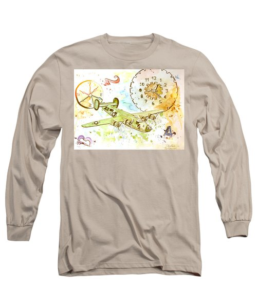 Running Out Of Time Long Sleeve T-Shirt