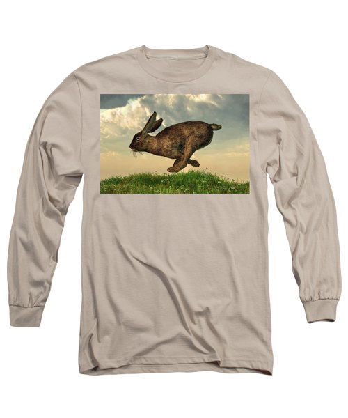 Running Rabbit Long Sleeve T-Shirt