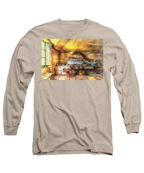 Rural Culinary Atmosphere Nr 2 - Atmosfera Culinaria Rurale IIi Paint Long Sleeve T-Shirt