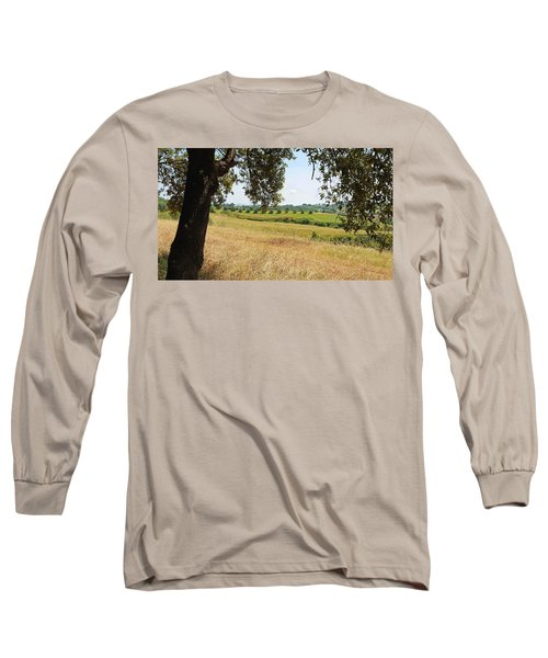 Long Sleeve T-Shirt featuring the photograph Rural Tuscany by Valentino Visentini