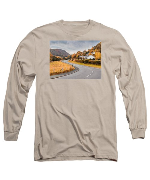 Rural Wales In Autumn Long Sleeve T-Shirt