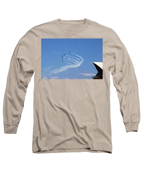 Long Sleeve T-Shirt featuring the photograph Russian Roolettes And Opera House by Miroslava Jurcik