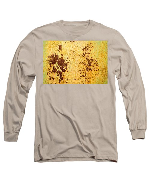 Long Sleeve T-Shirt featuring the photograph Rust Metal by John Williams