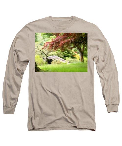 Rustic Bridge Long Sleeve T-Shirt