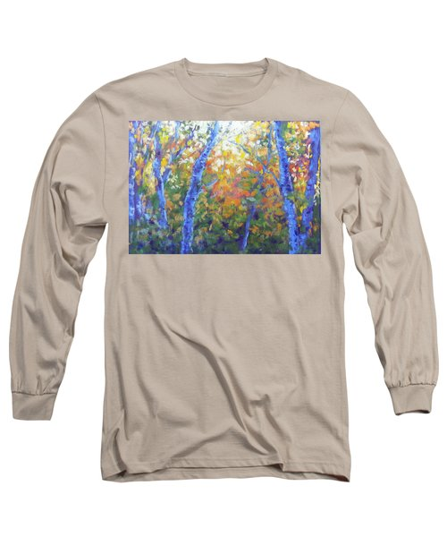 Rustlers Gulch Afternoon Long Sleeve T-Shirt by Becky Chappell