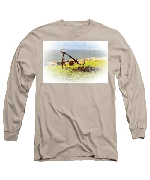 Rusty Anchor Long Sleeve T-Shirt