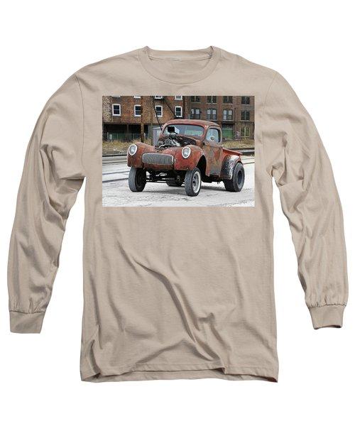 Rusty Gasser Long Sleeve T-Shirt by Christopher McKenzie