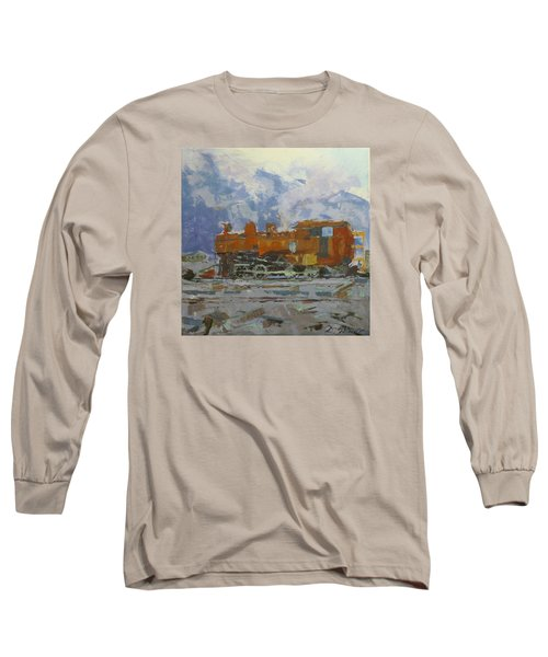 Rusty Loco Long Sleeve T-Shirt by David Gilmore