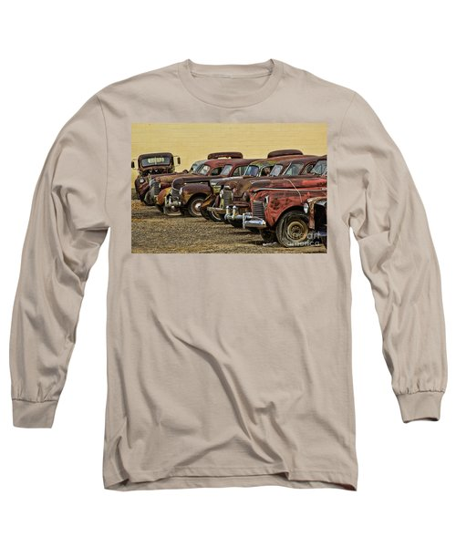 Rusty Row Long Sleeve T-Shirt