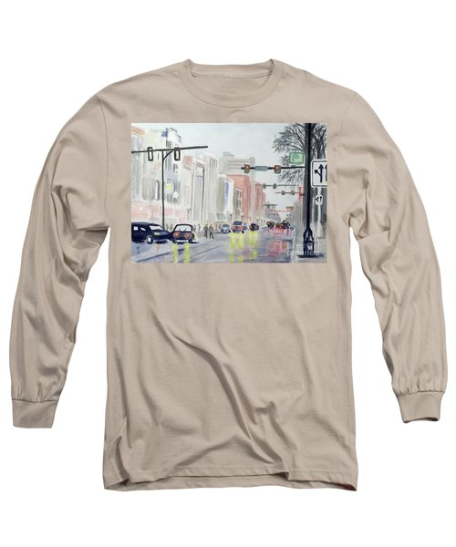 S. Main Street In Ann Arbor Michigan Long Sleeve T-Shirt