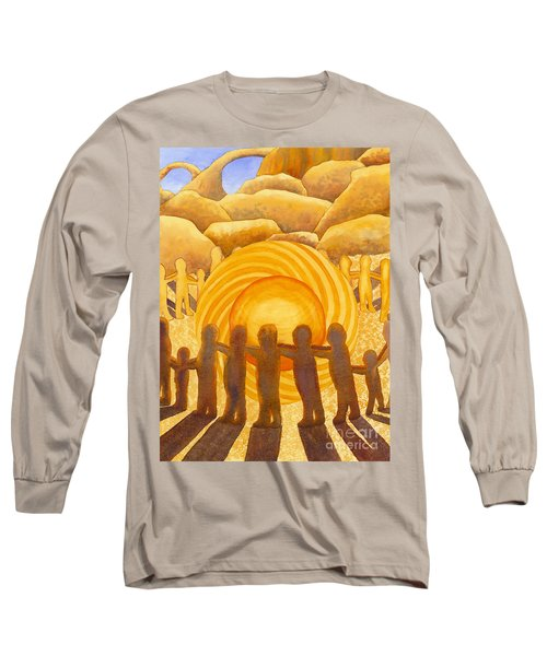 Sacral Chakra Long Sleeve T-Shirt