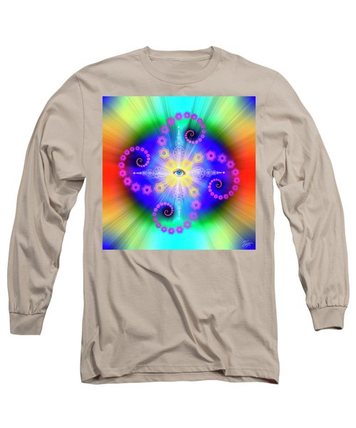 Sacred Geometry 653 Long Sleeve T-Shirt