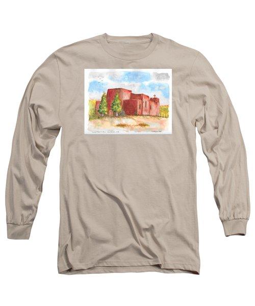 Sacred Heart Catholic Church, Nambe, New Mexico Long Sleeve T-Shirt