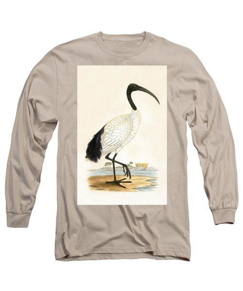 Sacred Ibis Long Sleeve T-Shirt by English School