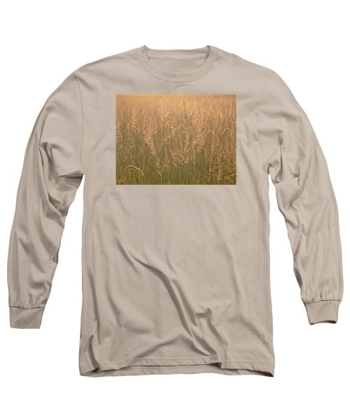 Sacred Morning Long Sleeve T-Shirt by Tim Good