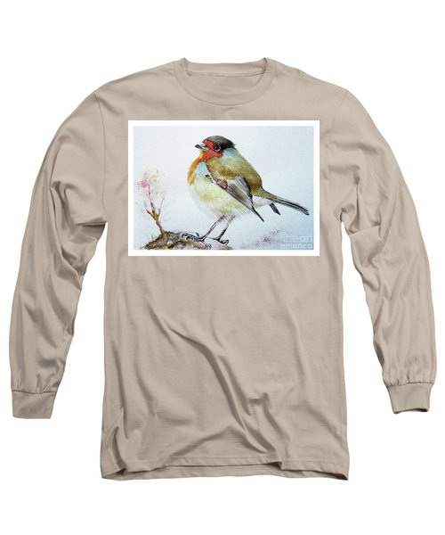 Sad Robin Long Sleeve T-Shirt