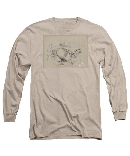 Safe Long Sleeve T-Shirt by Annemeet Hasidi- van der Leij