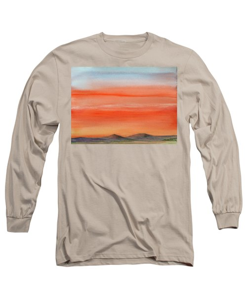 Saffron On The Mountains Long Sleeve T-Shirt