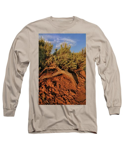 Sagebrush At Sunset Long Sleeve T-Shirt