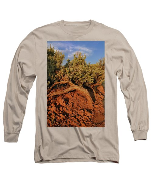 Sagebrush At Sunset Long Sleeve T-Shirt