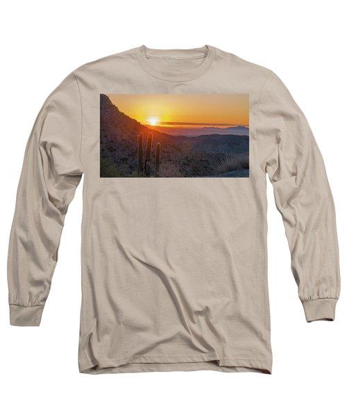 Saguaro Sunrise Long Sleeve T-Shirt