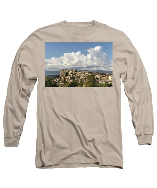 Long Sleeve T-Shirt featuring the photograph Saignon Village Provence  by Juergen Held